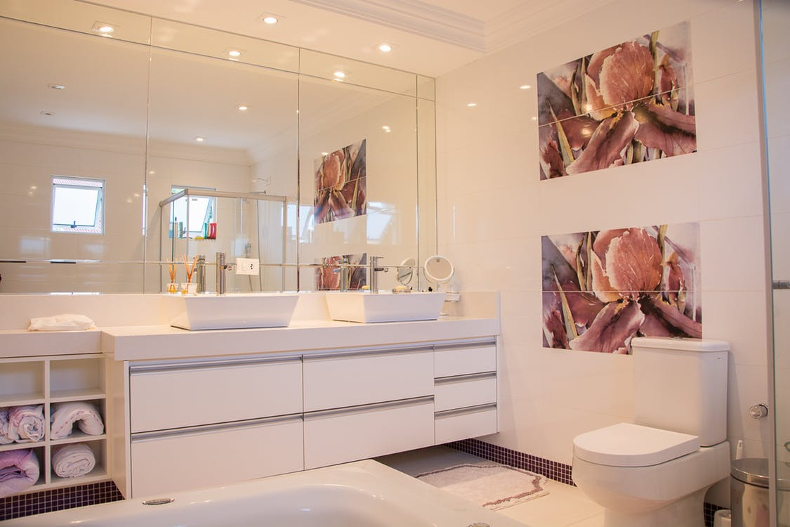 Badkamer vrije sector wonen