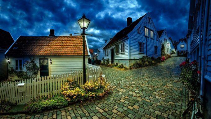 wonen in een dorp